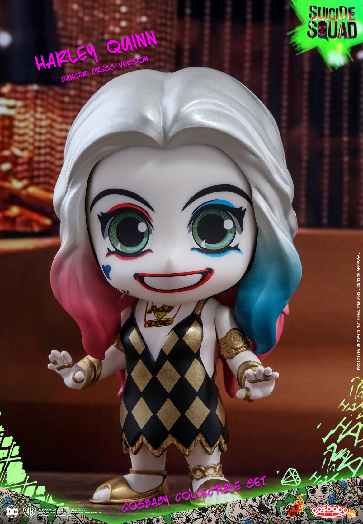 Teenage Mutant Ninja Turtles Toys : Hot toys suicide squad cosbaby s collectible sets