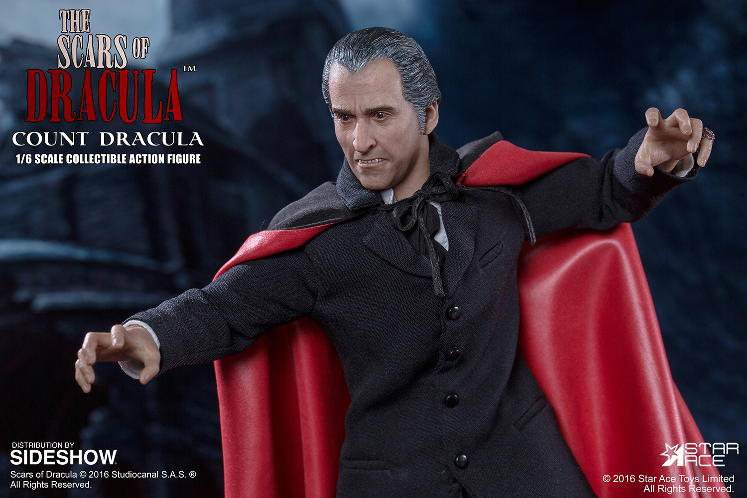Star Ace 1 6th Scale Christopher Lee As Count Dracula