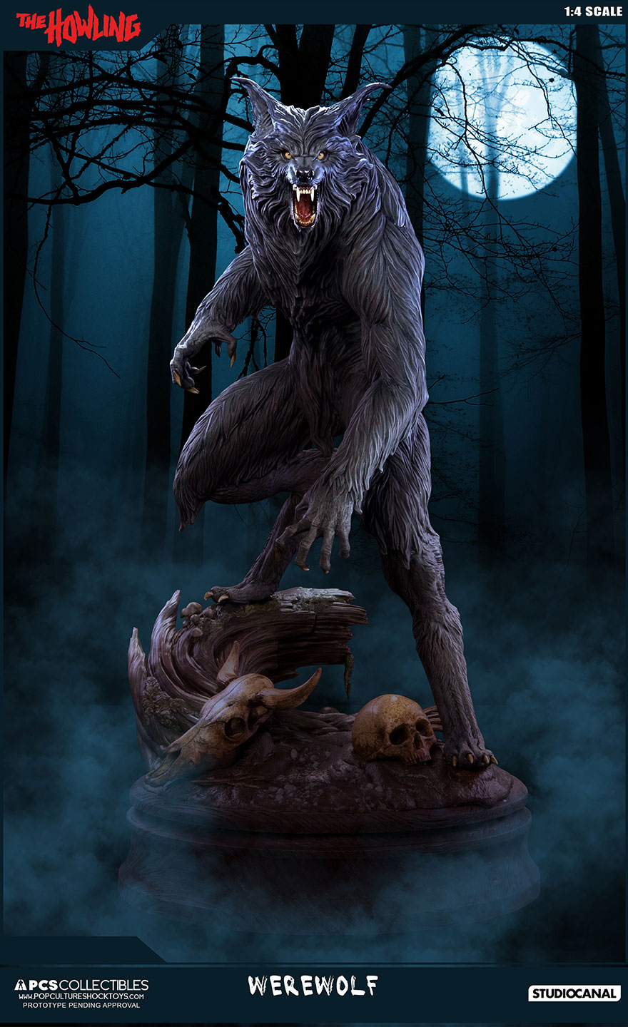 Pop Culture Shock THE HOWLING 1:4 Statue – NEW IMAGES ...