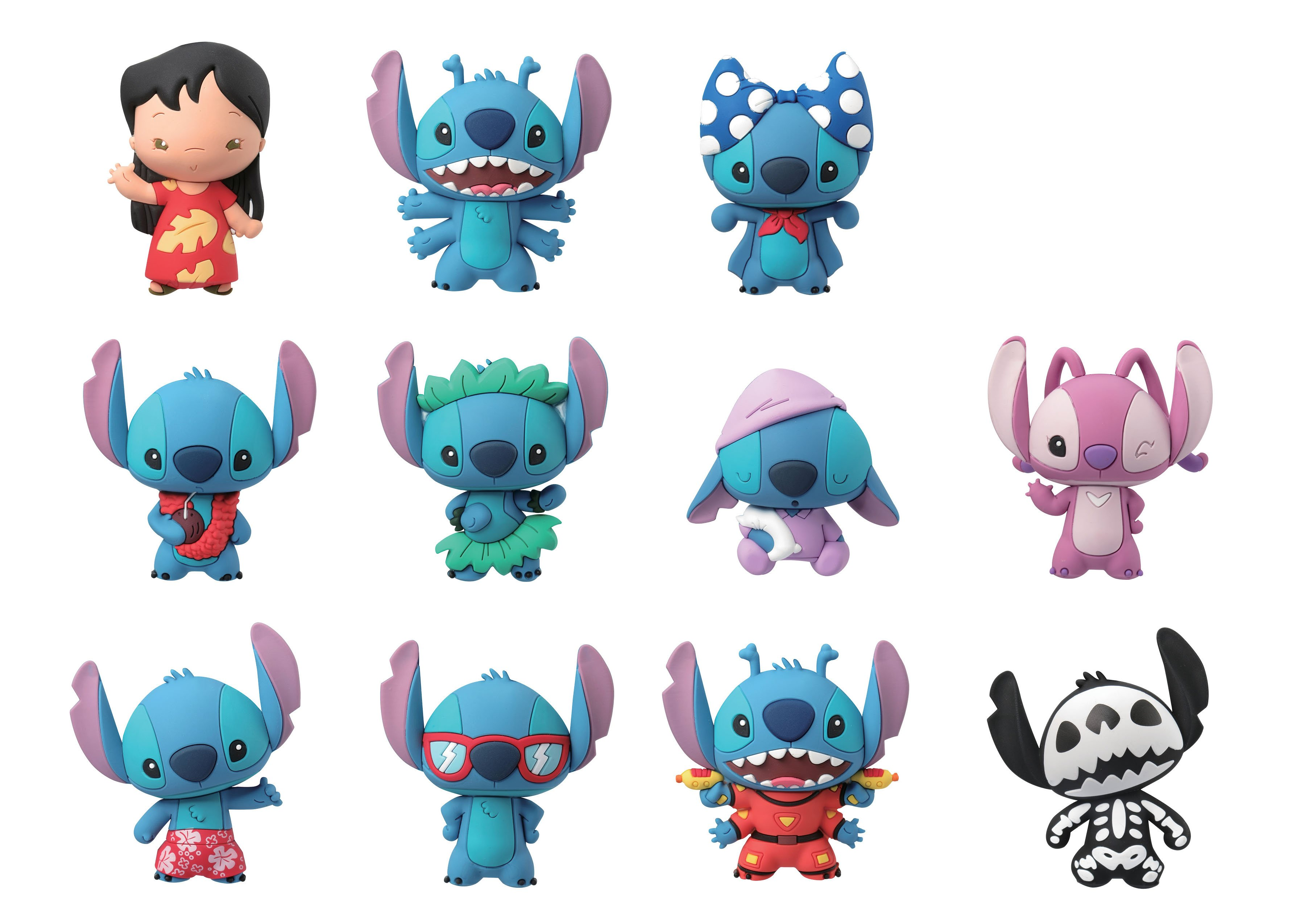 Monogram Lilo Amp Stitch 3d Foam Blind Bag Collection