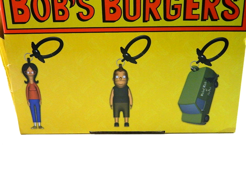photo review  bob u0026 39 s burgers keychains and collectible figure 5