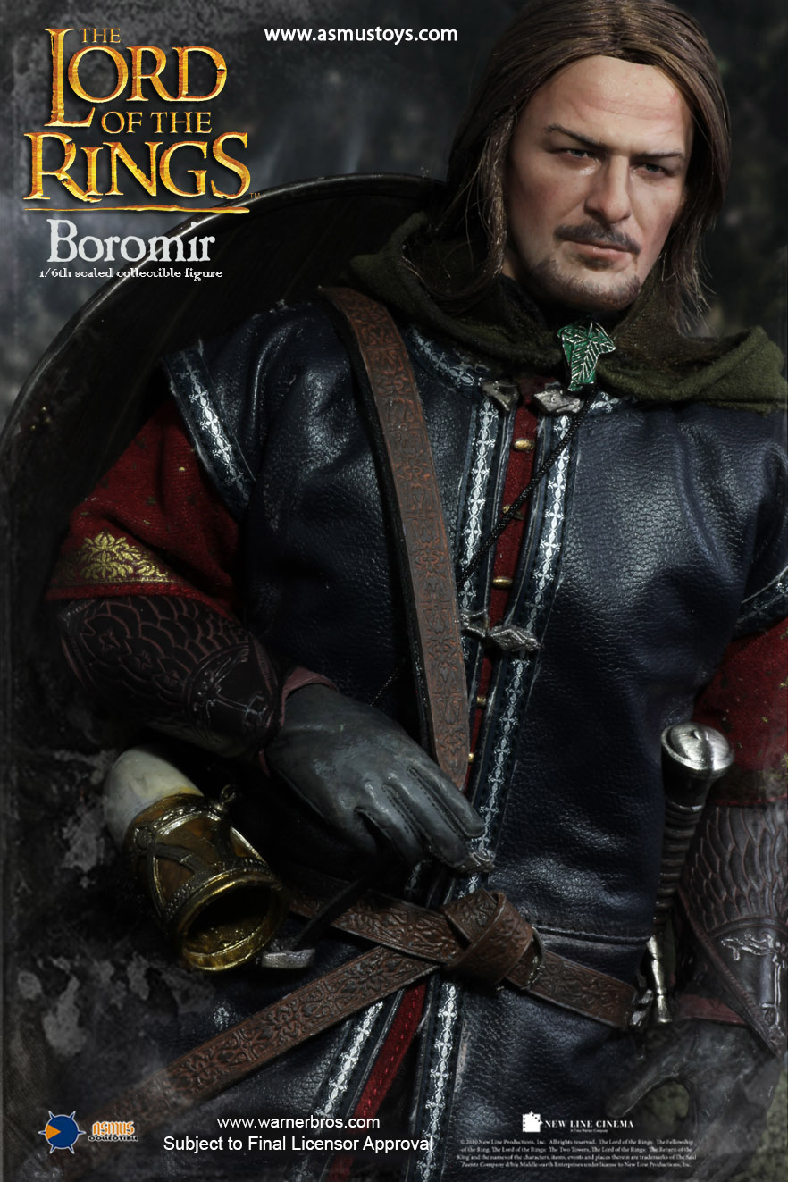 Asmus Toys Lord Of The Rings 1 6th Scale Boromir Figures Com