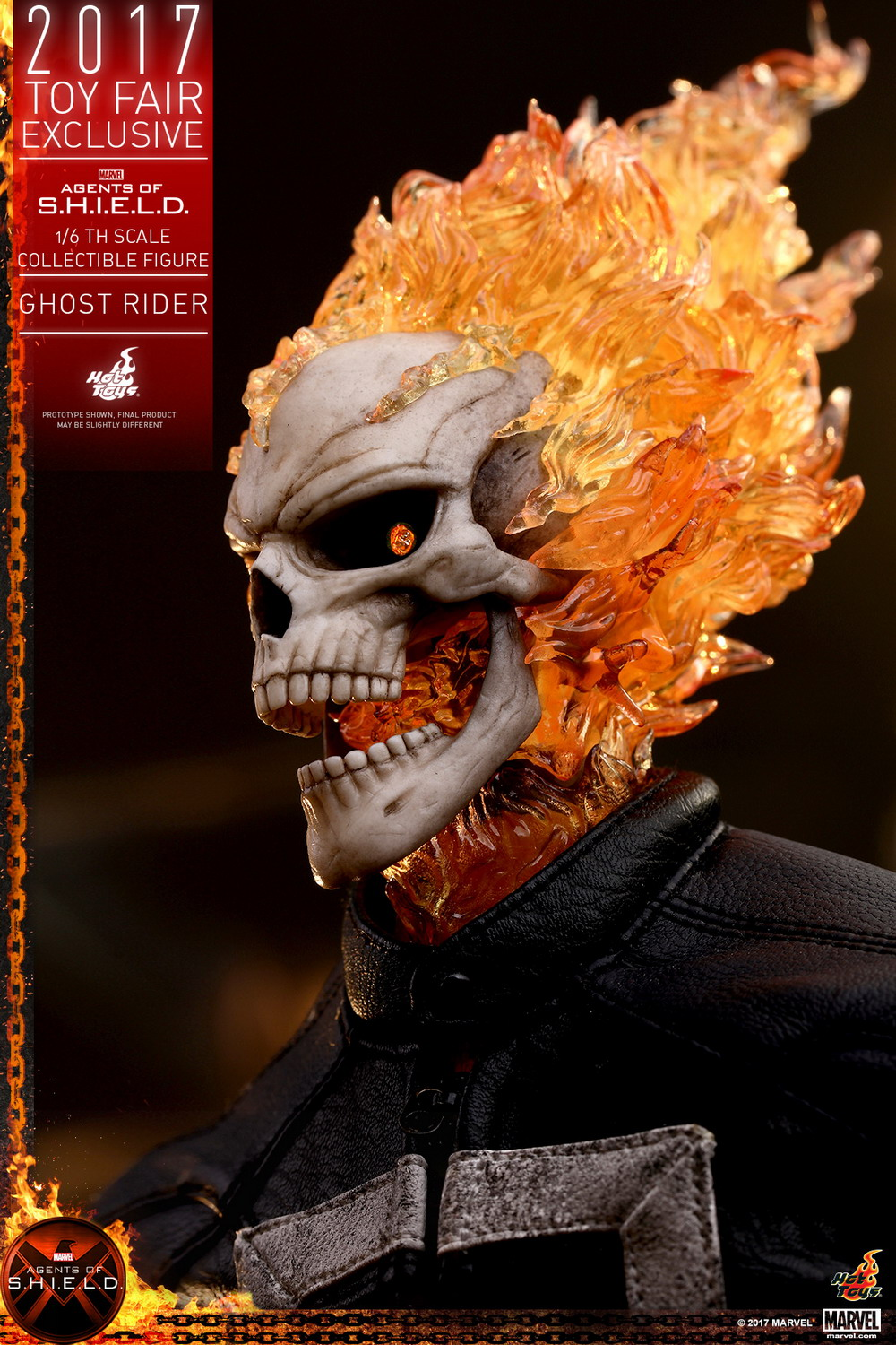 Hot Toys Agents of S.H.I.E.L.D. 1/6th scale Ghost Rider | Figures.com