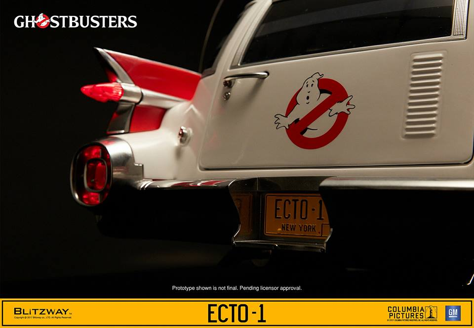 Hobby Store San Diego >> SDCC 2017: Blitzway Ghostbusters 1/6th scale Ecto-1 | Figures.com