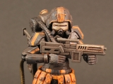 """<h5><a href=""""http://www.bigbadtoystore.com/Product/VariationDetails/53052"""" TARGET=""""_BLANK"""">ACID RAIN FLAME TROOPER</a> $32.99</h5><p>The Flame Trooper of the Omanga Military is highly posable, featuring 30 points of articulation. This 1/18 scale military action figure is fully painted with highly-detailed weathering effects. Comes with a flame thrower, submachine gun, and a figure case.  <a href=""""http://www.bigbadtoystore.com/Product/VariationDetails/53052"""" TARGET=""""_BLANK"""">ORDER HERE</a></p>"""