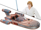 """<h5><a href=""""http://www.bigbadtoystore.com/Product/VariationDetails/59965"""" TARGET=""""_BLANK"""">STAR WARS 6"""" BLACK SERIES X-34 LANDSPEEDER & LUKE SKYWALKER</a>  $64.99</h5><p>Designed for ultimate collectability and display, the Luke Skywalker's Landspeeder and Luke Skywalker figure feature movie-real design and detailing.  The Luke Skywalker figure features multiple points of articulation, while the X-34 Landspeeder vehicle includes a clear stand for display. Collect all Star Wars The Black Series figures, vehicles, and more to expand and enhance any Star Wars collection!  <a href=""""http://www.bigbadtoystore.com/Product/VariationDetails/59965"""" TARGET=""""_BLANK"""">ORDER HERE</a></p>"""