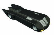 """<h5><a href=""""https://www.toynk.com/products/batman-the-animated-series-batmobile-vinyl-bank-statue"""" TARGET=""""_BLANK"""">BATMAN: THE ANIMATED SERIES BATMOBILE VINYL BANK STATUE</a> $23.99 </h5><p>Where does Batman get those wonderful toys? He saves up for them! In fact, if Batman used a piggy bank, it would probably be in the shape of the classic, streamlined Batmobile as seen in Batman: The Animated Series. This approximately 9"""" long vinyl bank looks like it just drove off the streets of animated Gotham City! Comes complete with a coin slot in the top and an access door underneath. <a href=""""https://www.toynk.com/products/batman-the-animated-series-batmobile-vinyl-bank-statue"""" TARGET=""""_BLANK"""">ORDER HERE</a></p>"""