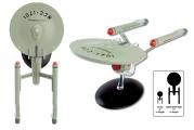 """<h5><a href=""""https://shop.eaglemoss.com/usa/star-trek-starships/uss-enterprise-ncc-1701-11-inch-xl-edition"""" TARGET=""""_BLANK"""">USS ENTERPRISE NCC-1701 11"""" XL EDITION</a> $71.20</h5><p>This 11-inch U.S.S. Enterprise NCC-1701 Star Trek Starship is an oversized model of the iconic ship from the classic television series. This model is die-cast, hand-painted, and comes with a display stand and an in-depth magazine featuring product artwork, highlighting the ship's history design.<a href=""""https://shop.eaglemoss.com/usa/star-trek-starships/uss-enterprise-ncc-1701-11-inch-xl-edition"""" TARGET=""""_BLANK"""">ORDER HERE</a></p>"""