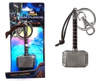 <h5>THOR'S HAMMER PEWTER KEY RING </h5><p>Monogram's Thor Hammer Pewter Key Ring makes a gift of mythic proportion.  This movie replica key ring is crafted with intricate engravings, coloring, and leather details to be marveled at. Available at Hot Topic, gift, and specialty stores near you!</p>