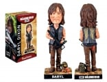 """<h5><a href=""""http://www.royalbobbles.com/bobbleheads/daryl-dixon-bobblehead/"""" TARGET=""""_BLANK"""">DARYL DIXON BOBBLEHEAD</a></h5><p>The Daryl bobblehead from Royal Bobbles has been thoughtfully designed to capture the essence, character and image of one of the most popular characters from hit television show The Walking Dead. Featuring his iconic crossbow, leather vest with wings, and scavenger pack holding snack bars, orange soda and moonshine, Daryl is equipped to take on any situation that befalls him. </p>"""
