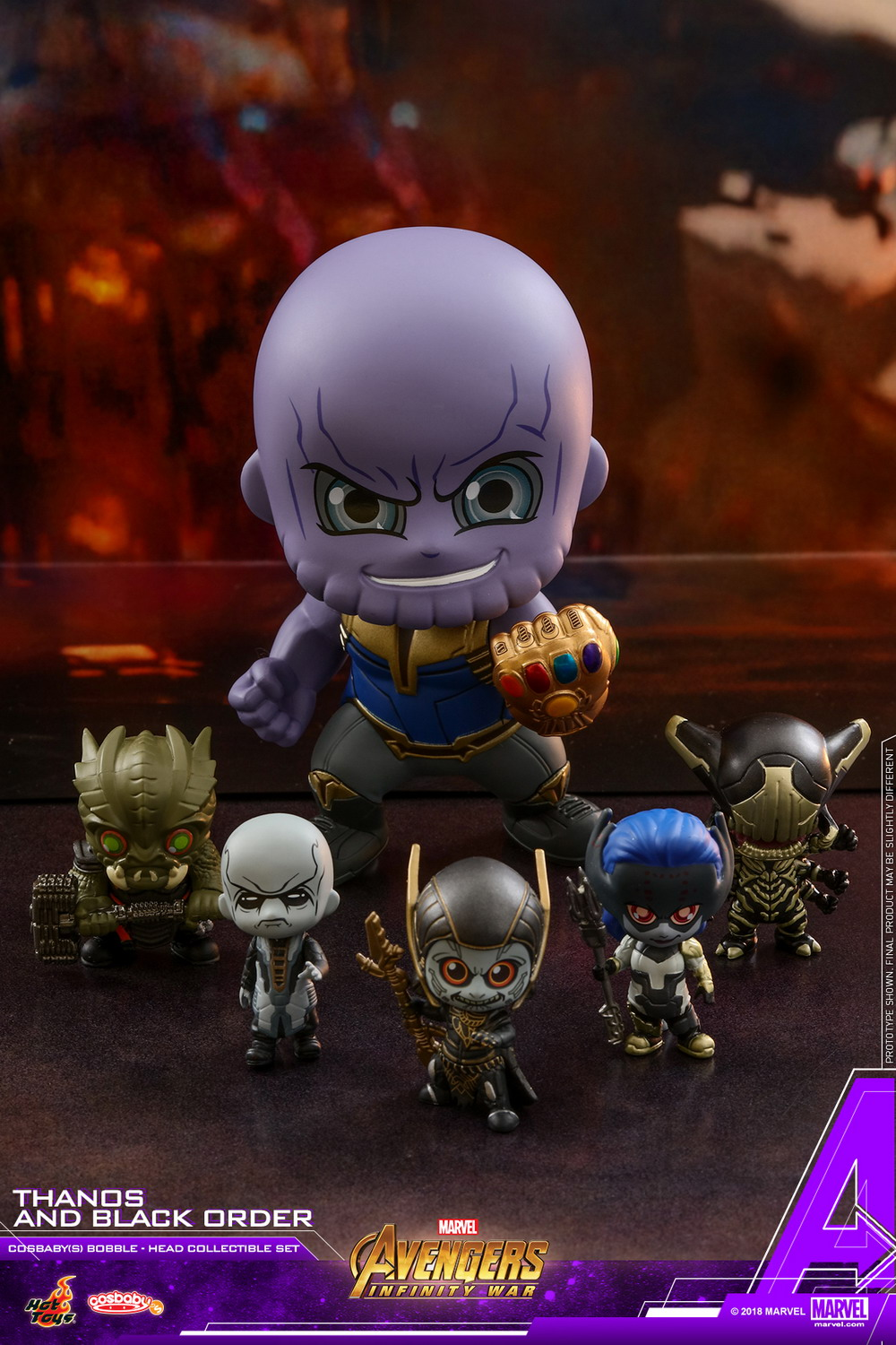 more hot toys avengers  infinity war cosbaby bobble