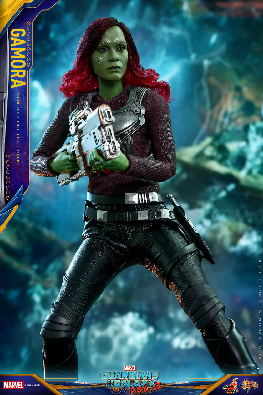 Hot Toys Guardians Of The Galaxy Vol 2 1 6th Scale Gamora