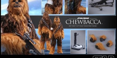 Hot Toys - Star Wars TFA - Chewbacca Collectible Figure PR_12