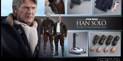 Hot Toys - Star Wars TFA - Han Solo Collectible Figure PR_14