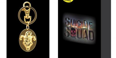 Suicide Squad Pewter Keyring Box Set_Joker head-pkg