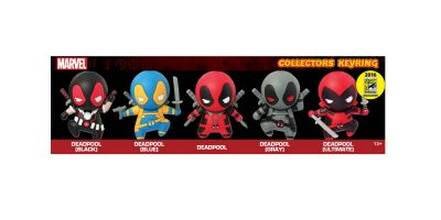 68130 Deadpool 3D Foam Keyring 5PC Set Rendering-01