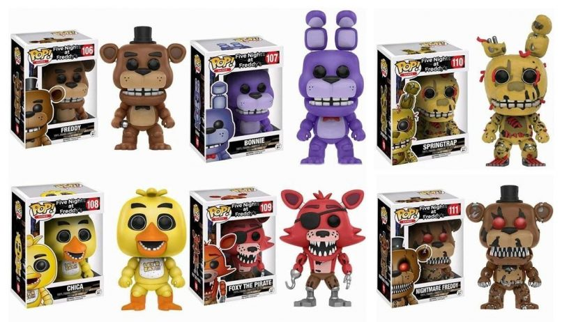 Funko rolls out new five nights at freddy s collectibles figures