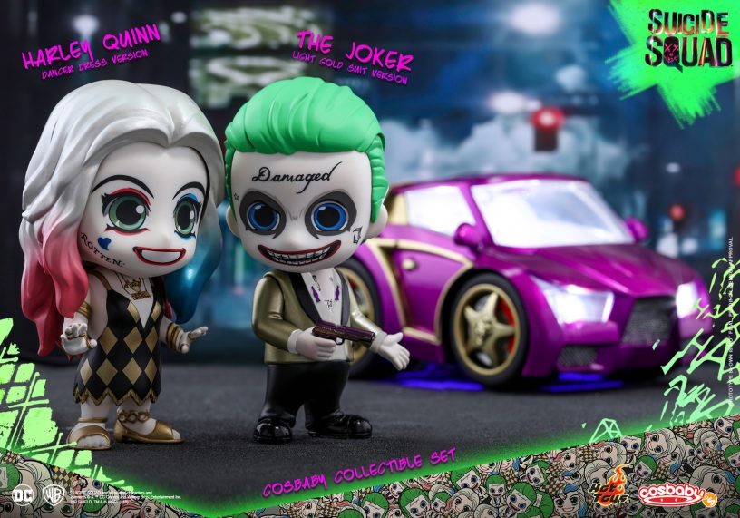 Hot Toys Suicide Squad Cosbaby S Collectible Sets