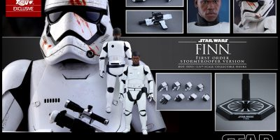 Hot Toys - Star Wars - The Force Awakens - Finn (First Order Stormtrooper Ver) Collectible Figure_PR15