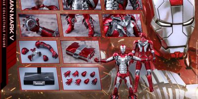 Hot Toys - Iron Man 2 - Mark V Diecast Collectible Figure_PR25