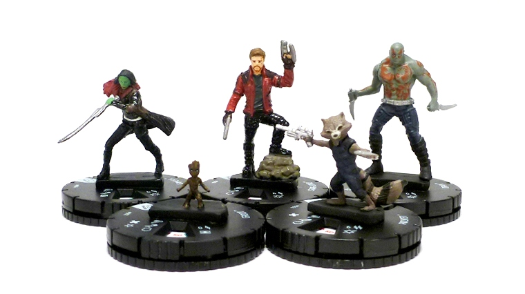 ADVANCE LOOK WizKids Games Marvel HeroClix Guardians of the