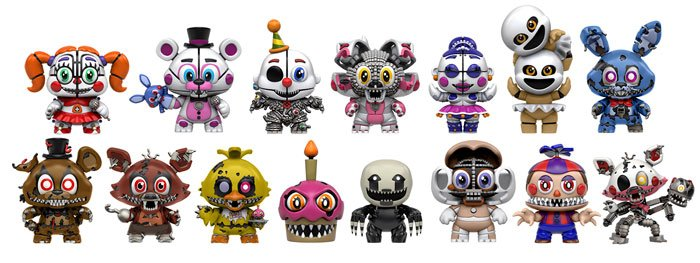 New Funko Five Nights At Freddy S Sister Location