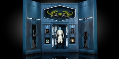STAR WARS THE BLACK SERIES 6-INCH GRAND ADMIRAL THRAWN - SDCC Exclusive (1)