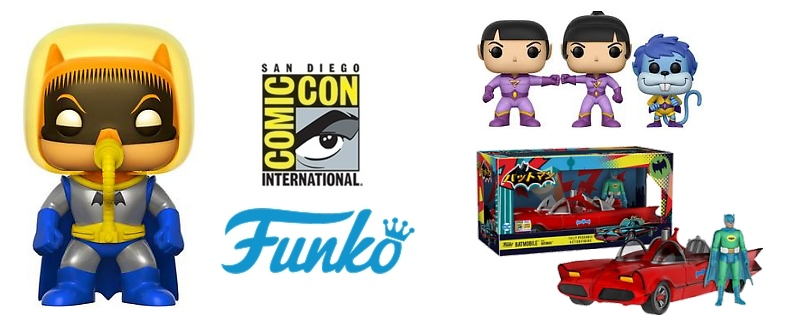 Funko SDCC 2017 DC Comics Exclusives