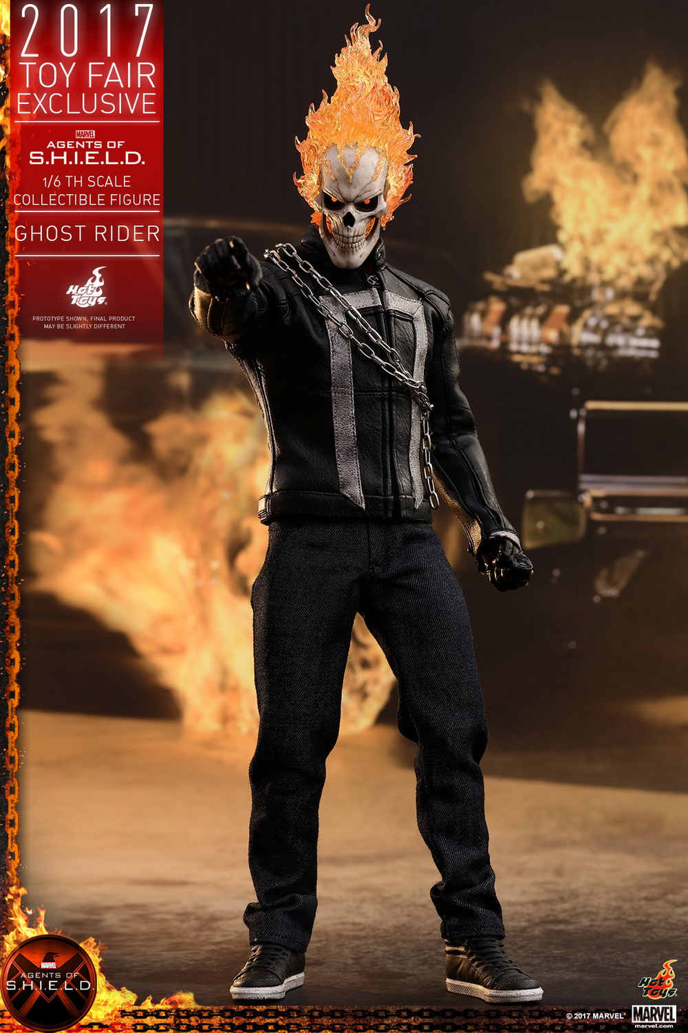 Hot Toys - AOS - Ghost Rider collectible figure_PR1