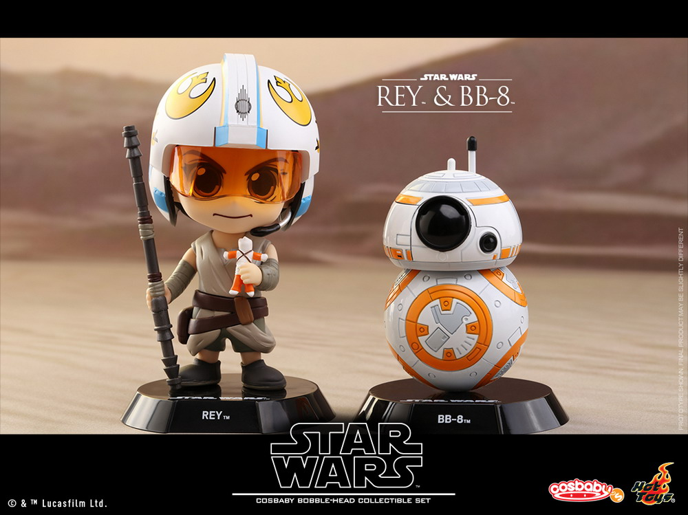 Hot Toys - SWTFA - Rey & BB-8 Cosbaby Set_PR1