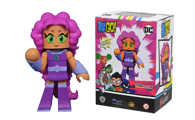 ToysRUs to Offer NYCC 2017 Exclusive Teen Titans Go Starfire