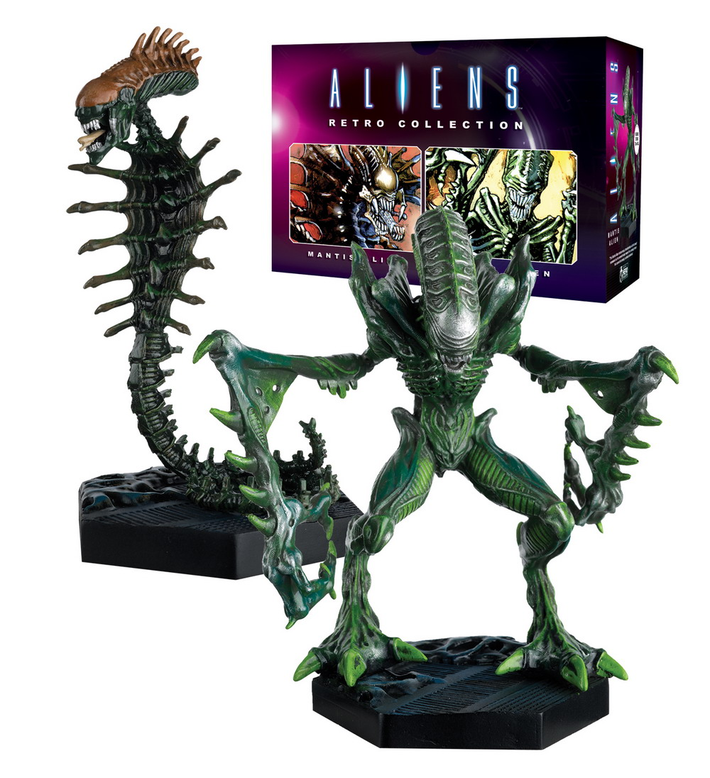 4. HC NYCC Alien_Predator_Collection Retro 2Pack Snake and Mantis