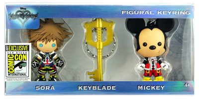 80170 Kingdom Hearts 3D foam KR 3pc Set