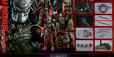 Hot Toys - AVP2 - Wolf Predator (Heavy Weaponry) collectible figure_PR23