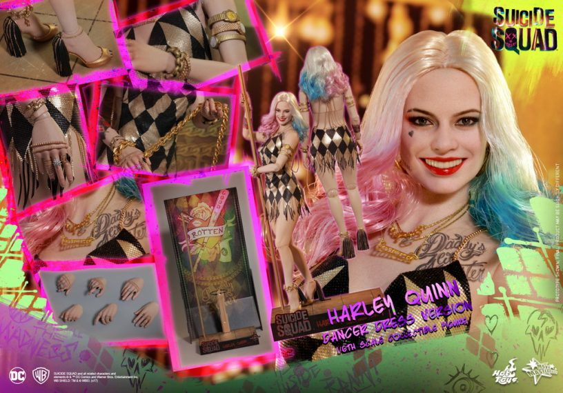 Hot Toys - SS - Harley Quinn (Dancer Dress Version) collectible figure_PR14