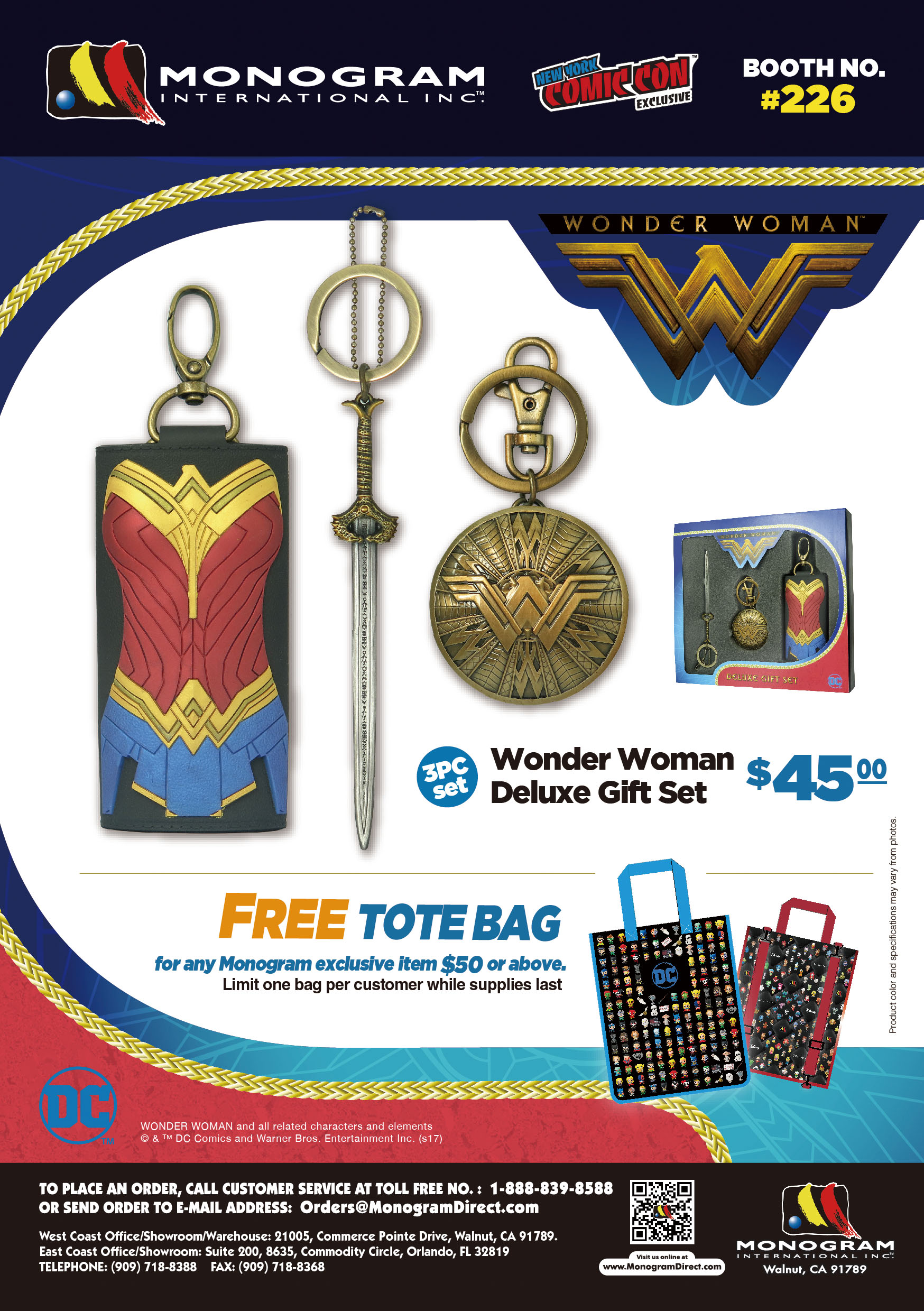 Preview - NYCC Wonder Woman Flyer A5 3-01