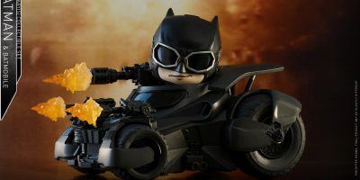 Hot Toys - Justice League - Batman & Batmobile Cosbaby (S) Set_PR1