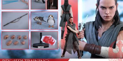 Hot Toys - SWTLJ - Rey (Jedi Training) collectible figure_PR21