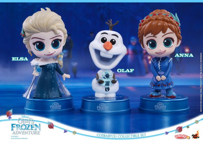Hot Toys - Olaf's Frozen Adventure Cosbaby (S) Set_PR1