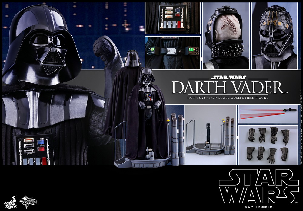 Hot Toys - SW - Darth Vader Collectible Figure_PR25