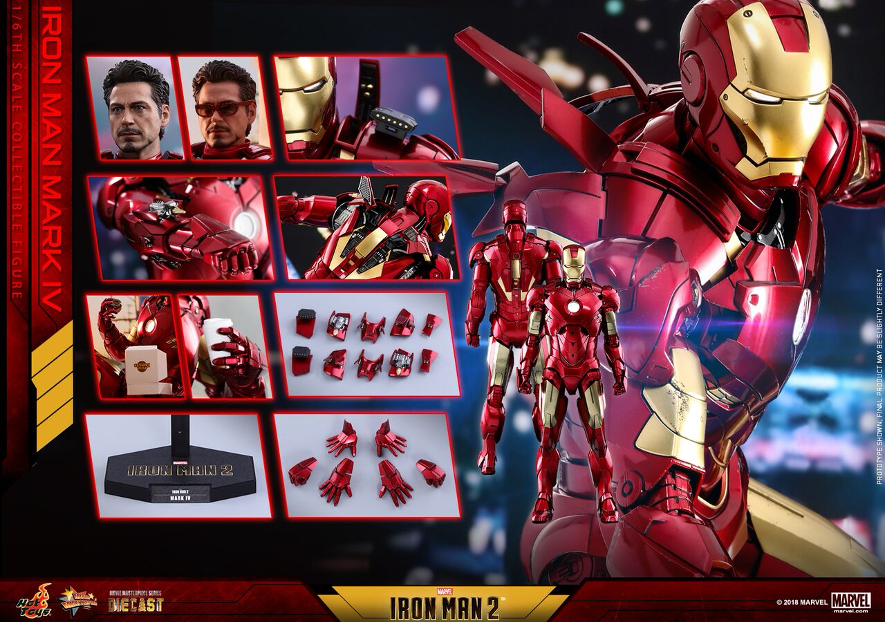 Hot Toys - IM2 - Mark IV (Diecast) collectible figure_PR12_preview