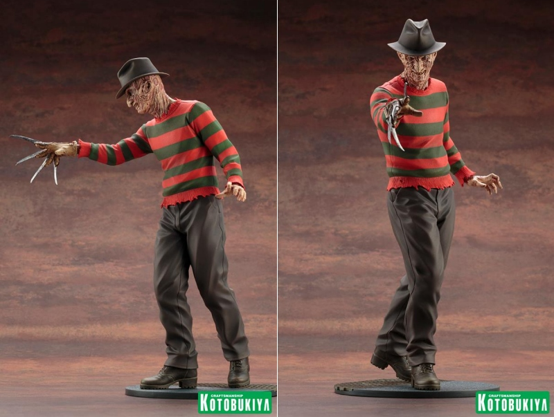 Картинки по запросу Nightmare On Elm Street ArtFX Statues - 1/6 Scale NO 4 Dream Master Freddy Krueger