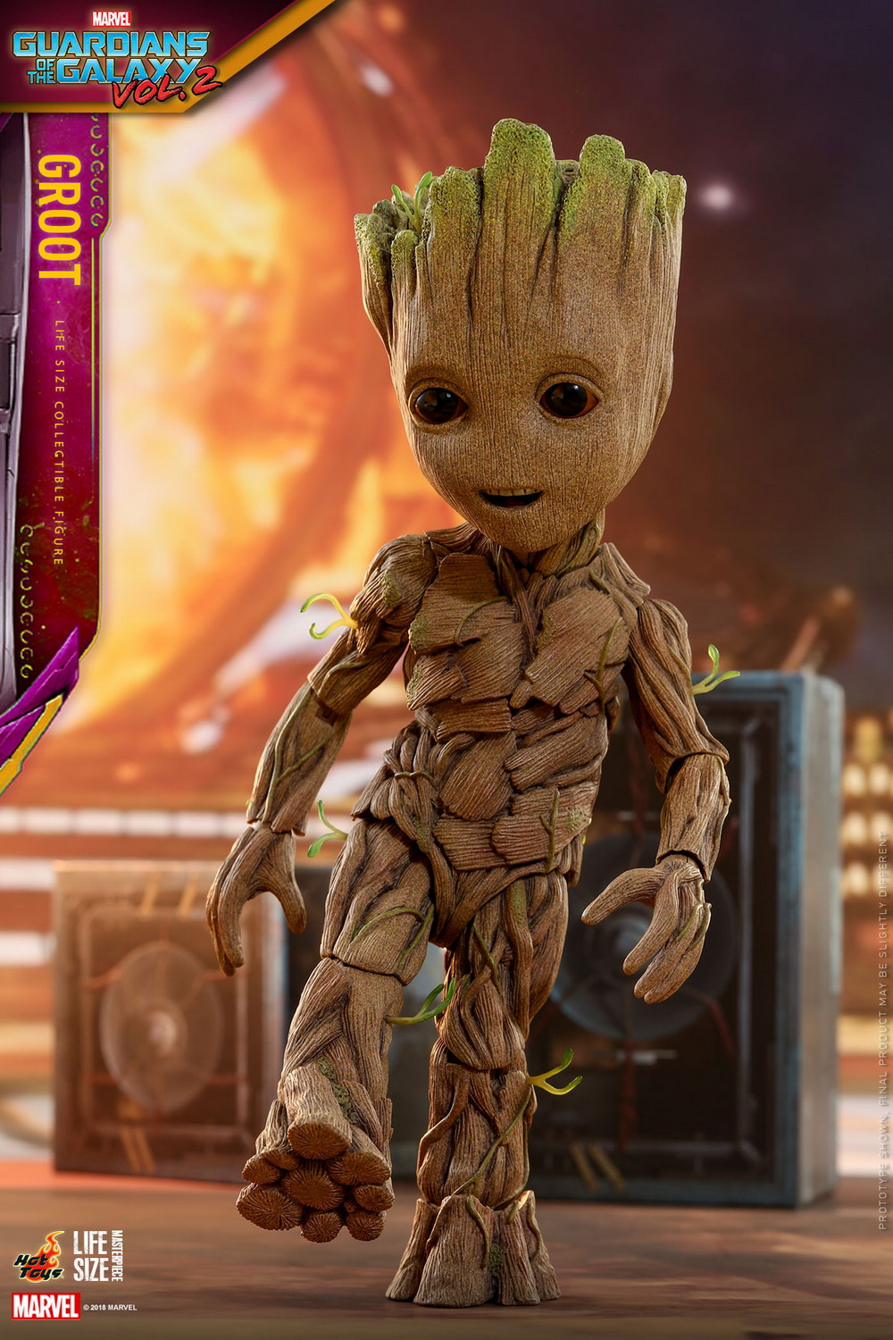 Hot Toys - GOTG2 - Groot Life-size Collectible Figure_PR4