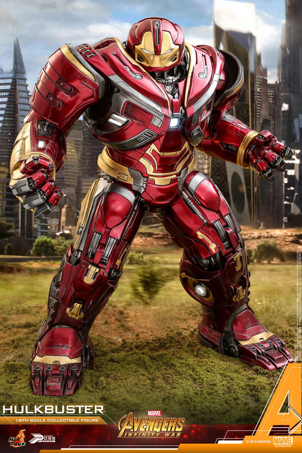 Hot Toys - AIW - Hulkbuster power pose collectible figure_PR1