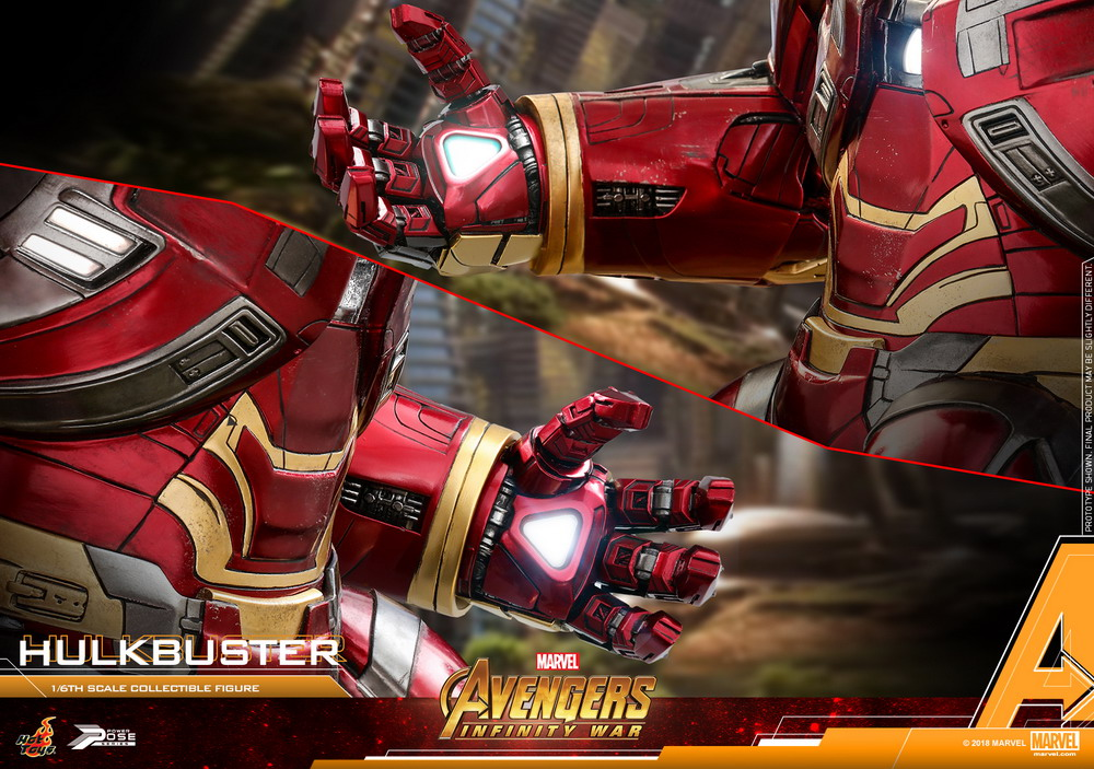 Hot Toys - AIW - Hulkbuster power pose collectible figure_PR17
