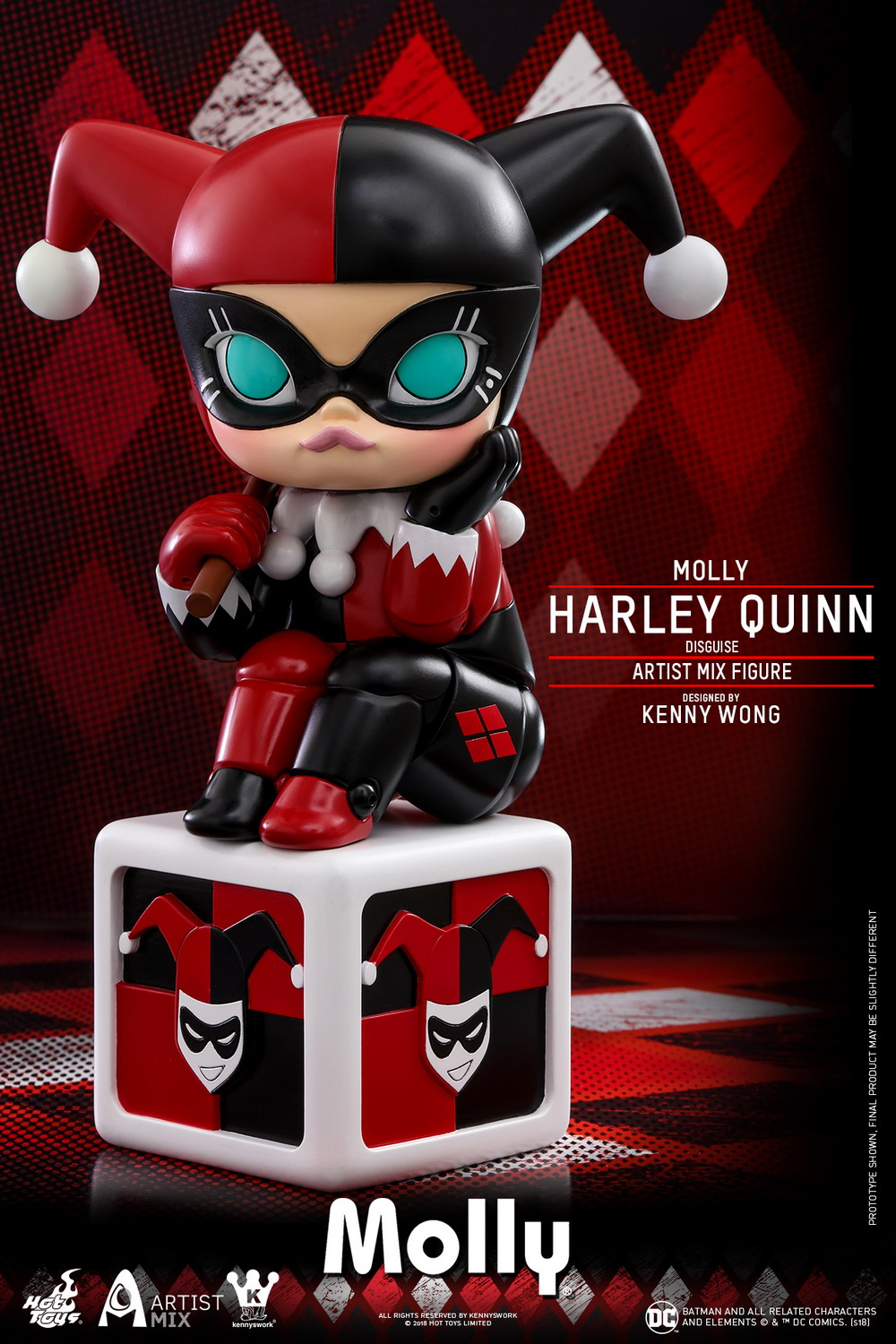 Hot Toys - Molly (Harley Quinn Disguise) Artist Mix Figure Designed by Kenny Wong_PR1