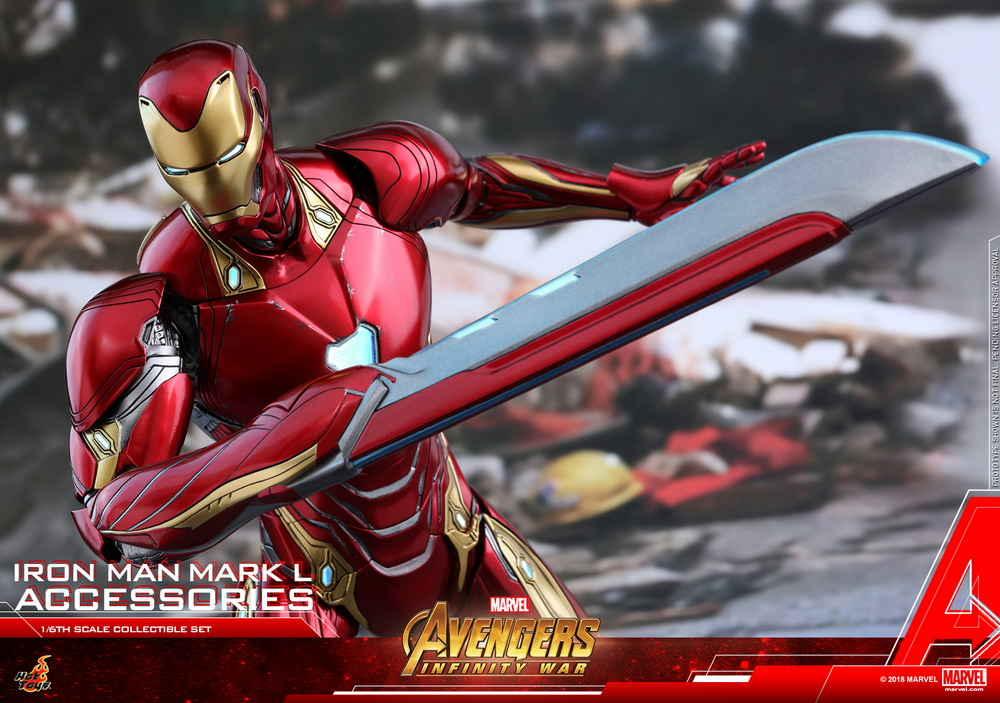 Hot Toys - Avengers 3 - Iron Man Mark L Accessories Collectible Set_PR14