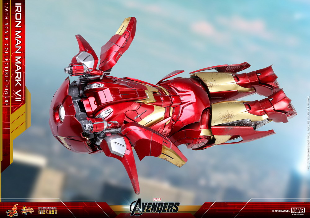 Hot Toys - Avengers - Mark VII (Diecast) collectible figure_PR21