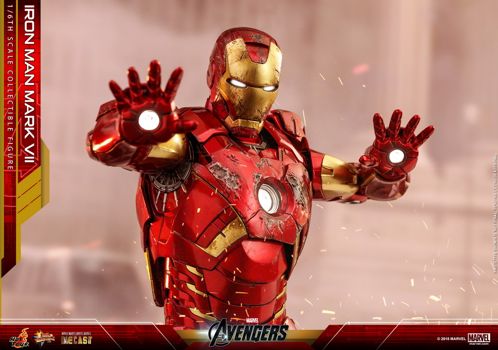 Hot Toys - Avengers - Mark VII (Diecast) collectible figure_PR29