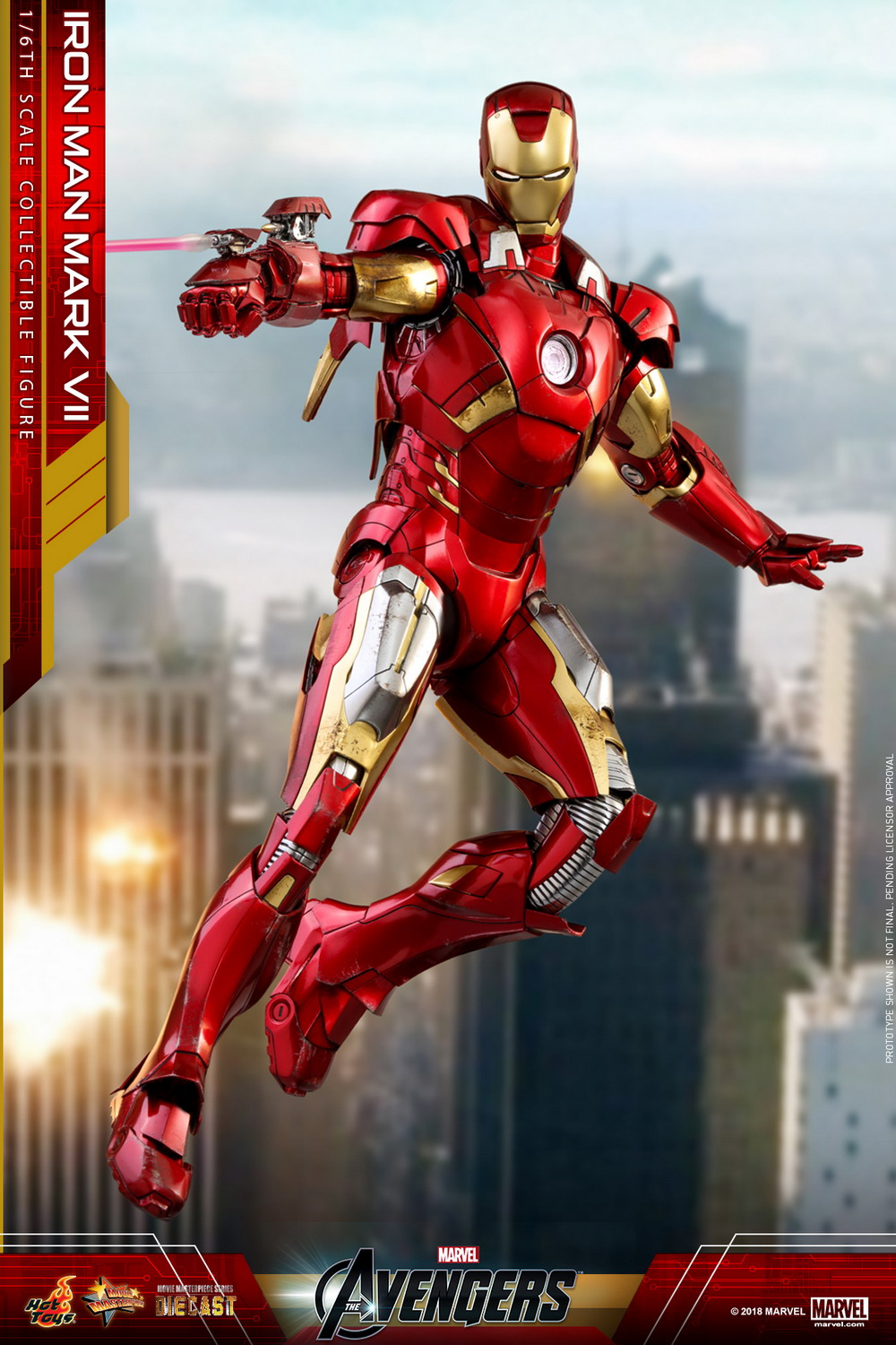 Hot Toys - Avengers - Mark VII (Diecast) collectible figure_PR5